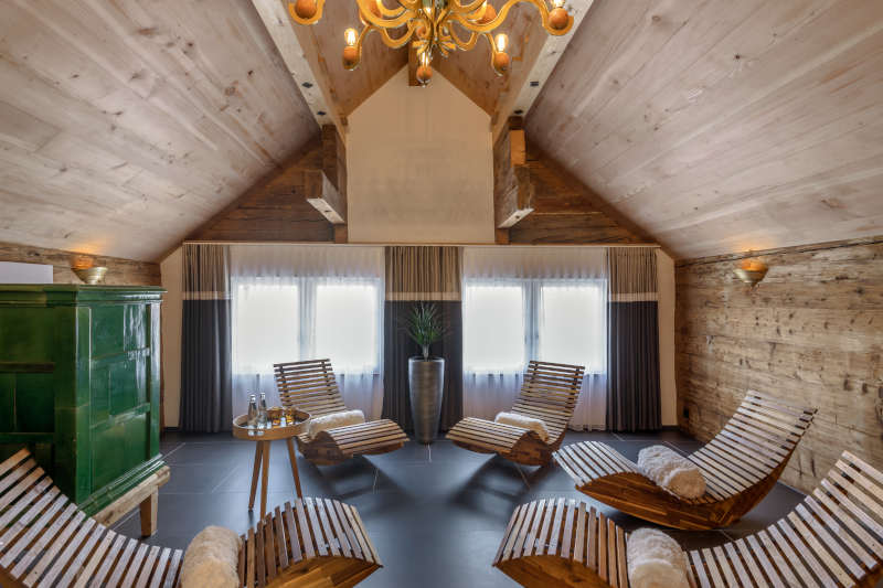 VIP-Wellness in Gonten - Boutique Hotel Bären Gonten - Ruheraum