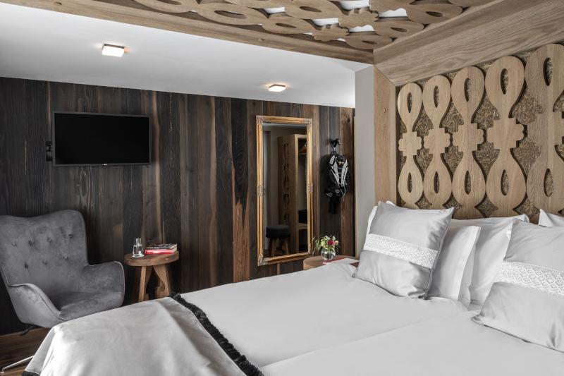 VIP-Wellness in Gonten - Boutique Hotel Bären Gonten - Doppelzimmer