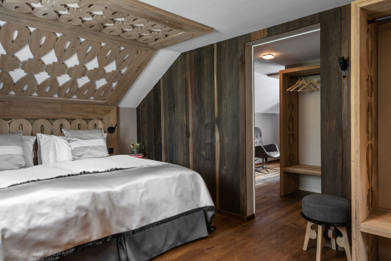 VIP-Wellness in Gonten - Boutique Hotel Bären Gonten - Residenz Boutique Doppelzimmer